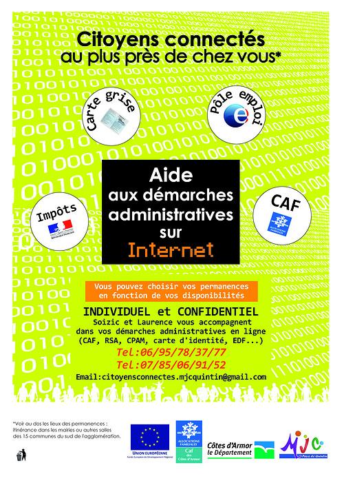 Aide aux démarches administratives sur Internet 0